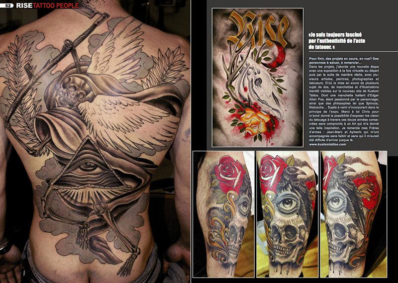 Magazine Kustom Tattoo Rise Le Mag Du Salon De Tatouage Parisien