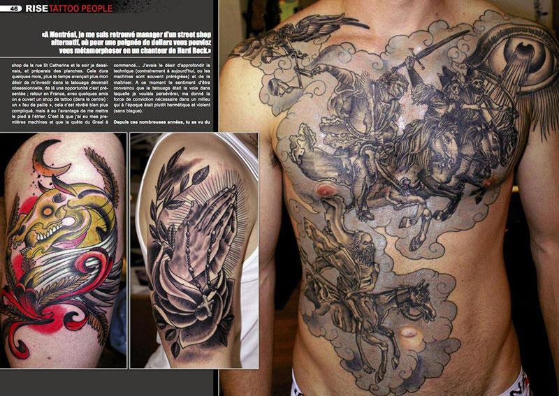 magazine kustom tattoo rise, le mag du salon de tatouage parisien