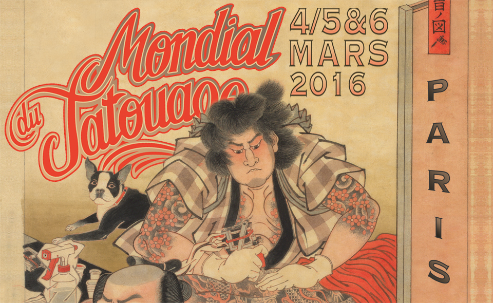 mondial tatouage 2016 Paris