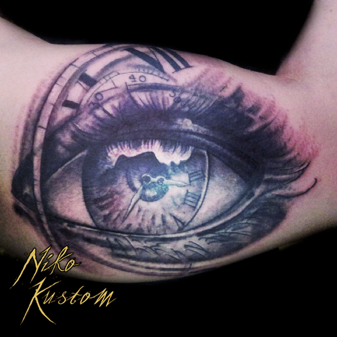 niko 39 s tattoo of the week tatouage paris kustom tattoo. Black Bedroom Furniture Sets. Home Design Ideas