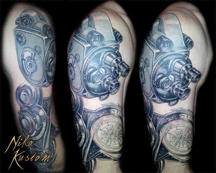 tatouage sur le thème du cinéma - tatouage paris kustom tattoo