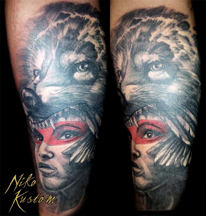 Niko S Tattoo Of The Week Tatouage Paris Kustom Tattoo