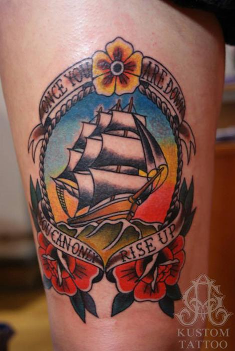 Voici les derniers tatouages d'Aymeric