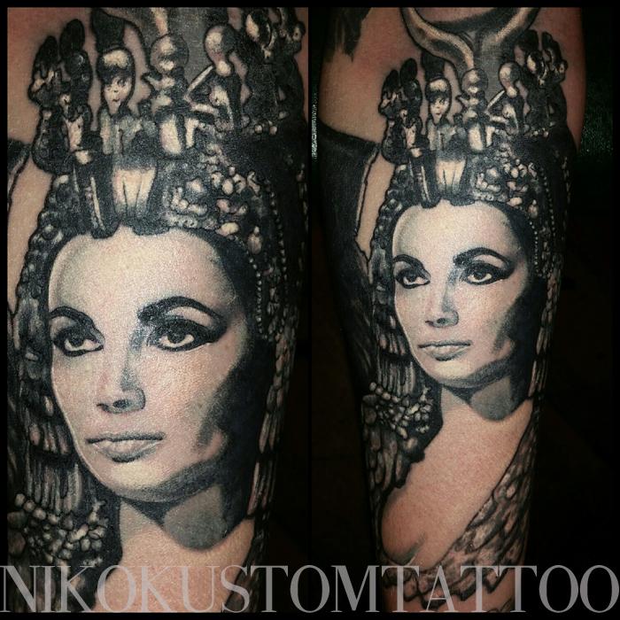 Voici les derniers tatouages de Niko