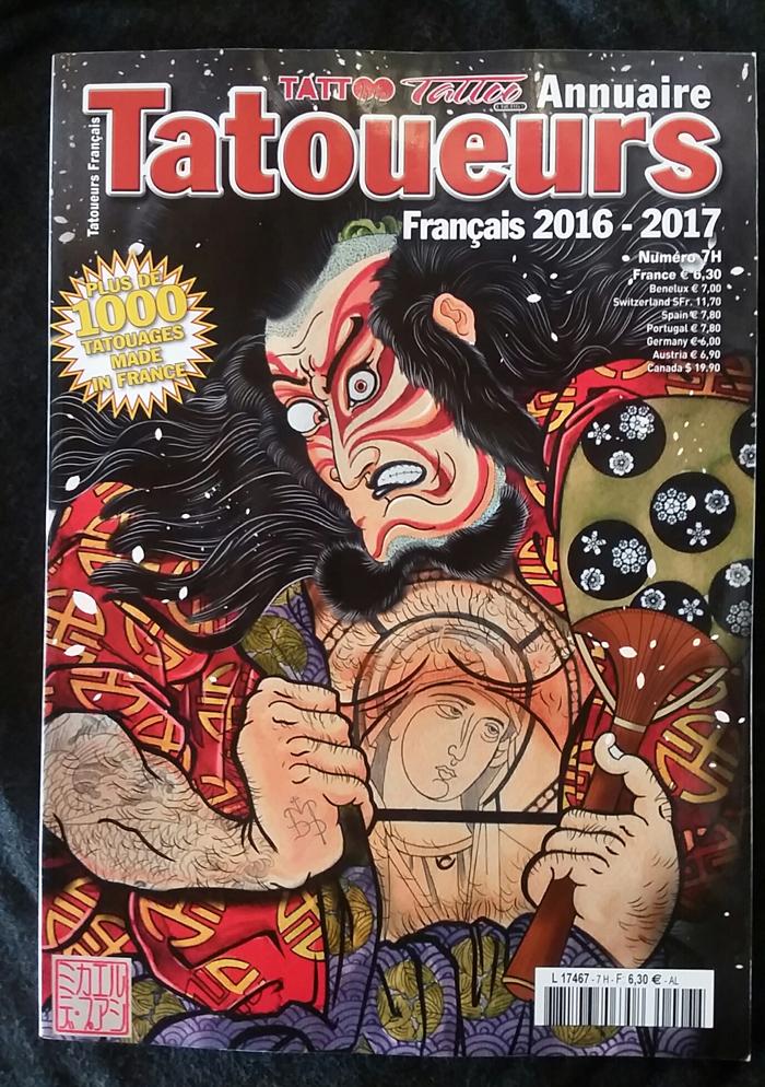 Annuaire des Tatoueurs 2017