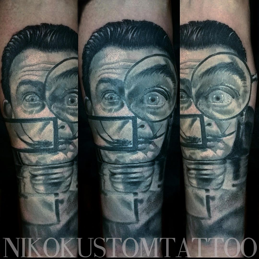 Voici les derniers tatouages réalisés par Niko et quelques Créations originales