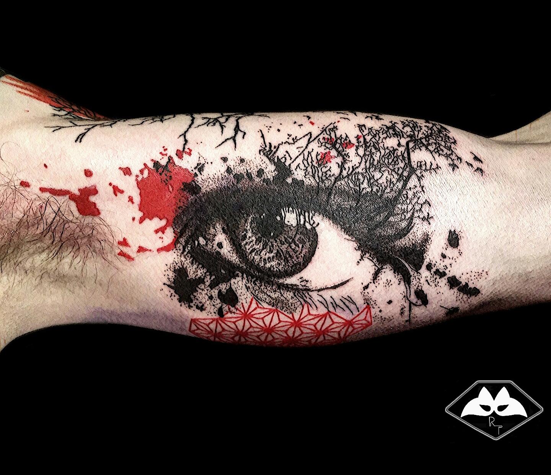 Nouveaux tatouages réalisés par Raccoon
