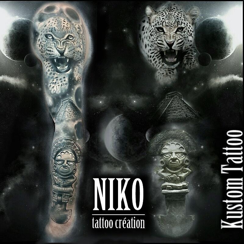 Voici les derniers tatouages réalisés par Niko
