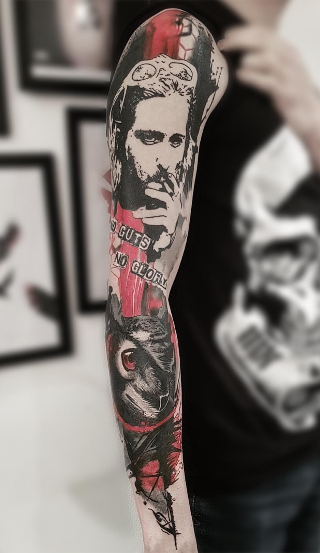 Nouveaux tatouages fait par Raccoon