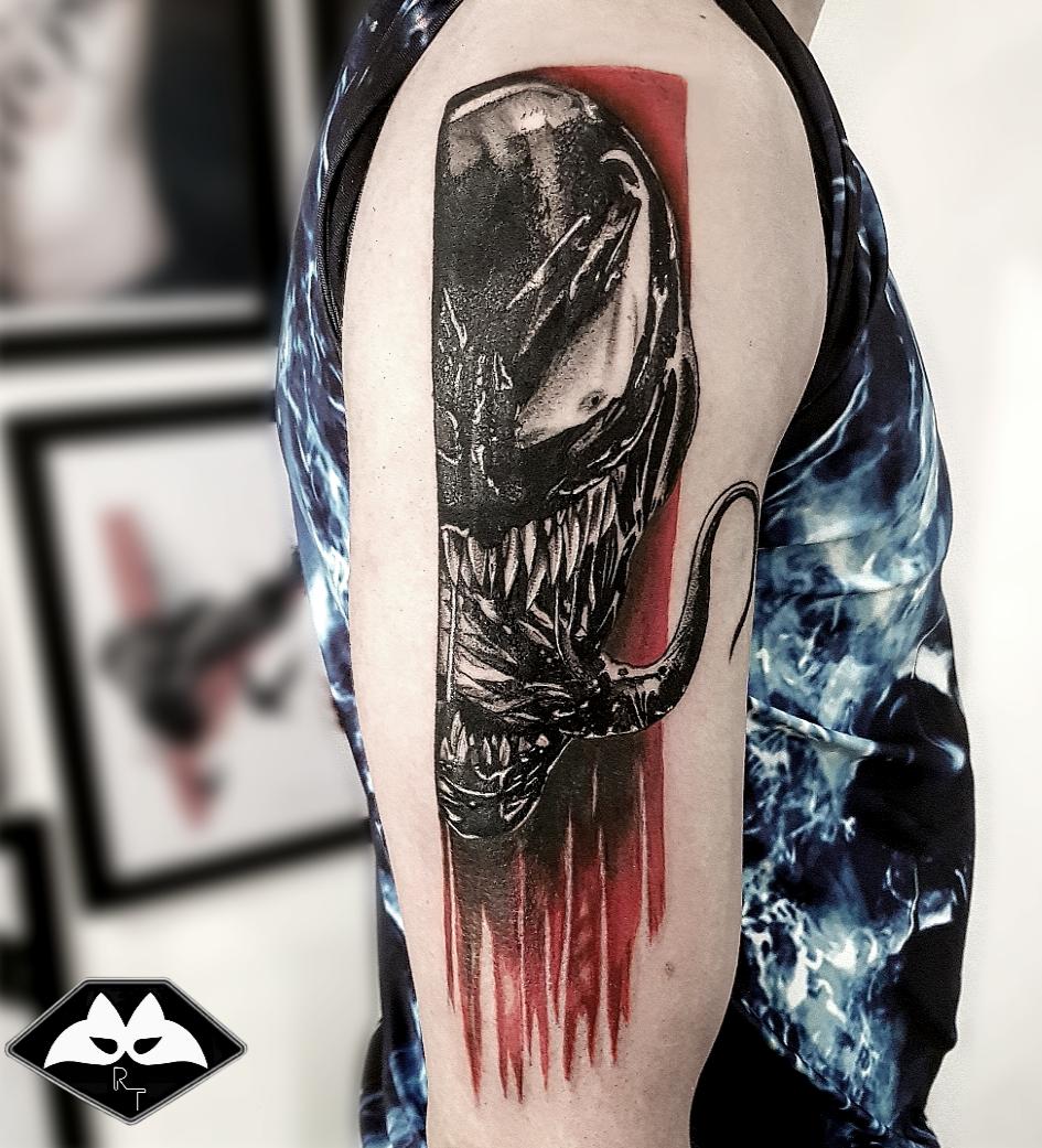 Derniers tatouage réalisé par Raccoon