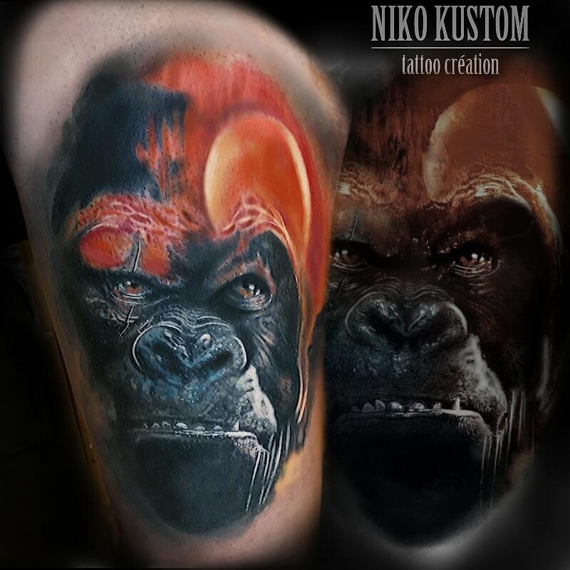 tatouages de rentrée de Niko