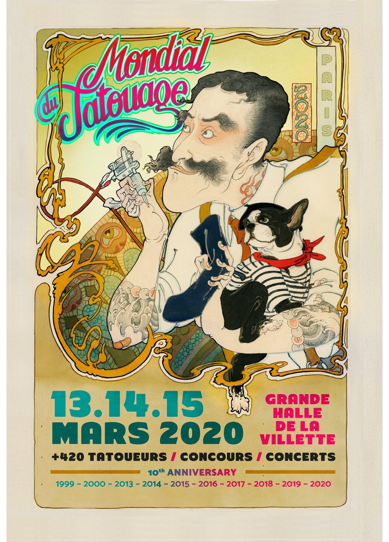 Paris World Tattoo Convention: Le Mondial du Tatouage