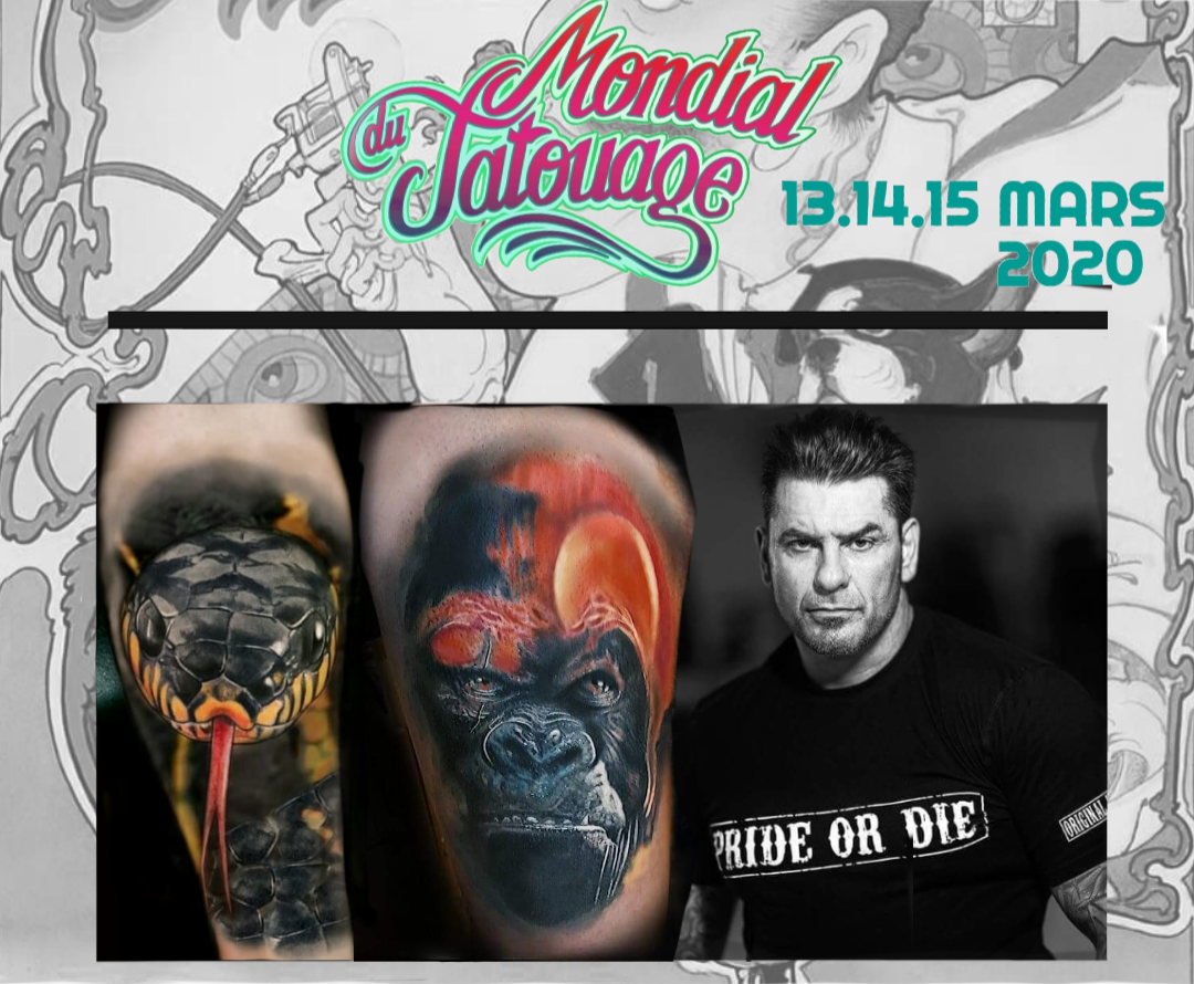 Mondial du Tatouage 2020 Paris world tattoo convention
