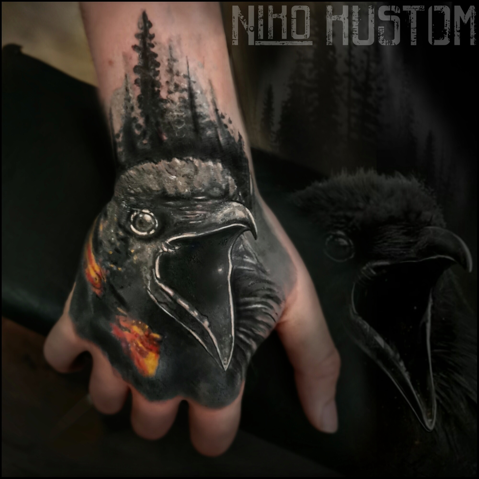Niko's new tattoos